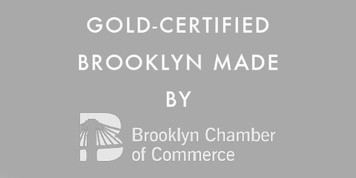 gold-certified Brooklyn made by Brooklyn chamber