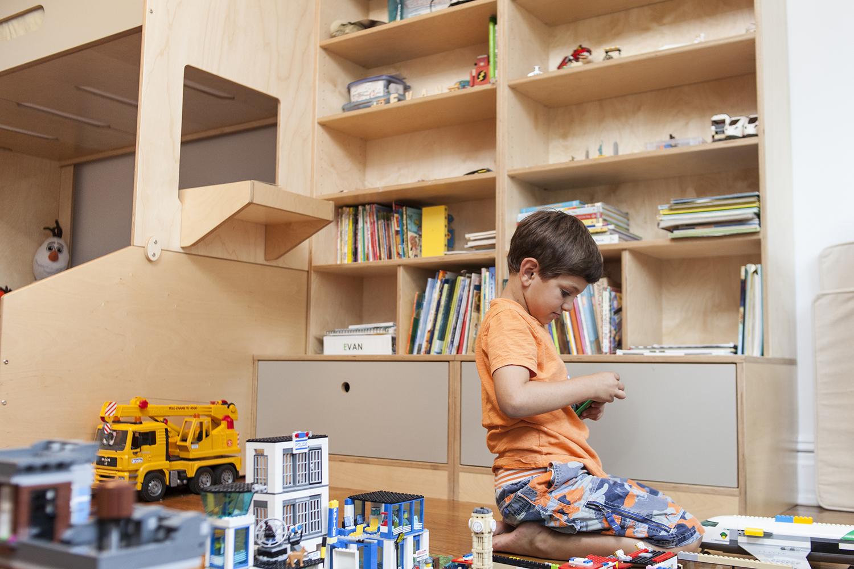 Casa kids custom storage solutions.