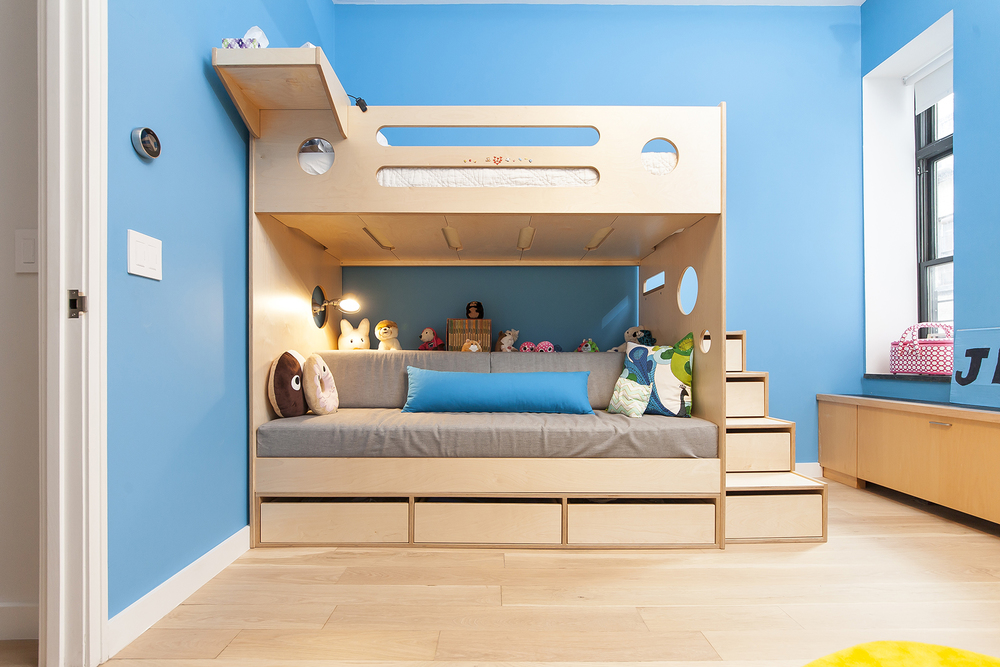 Casa Kids custom plywood furniture. Made in Brooklyn, New York.