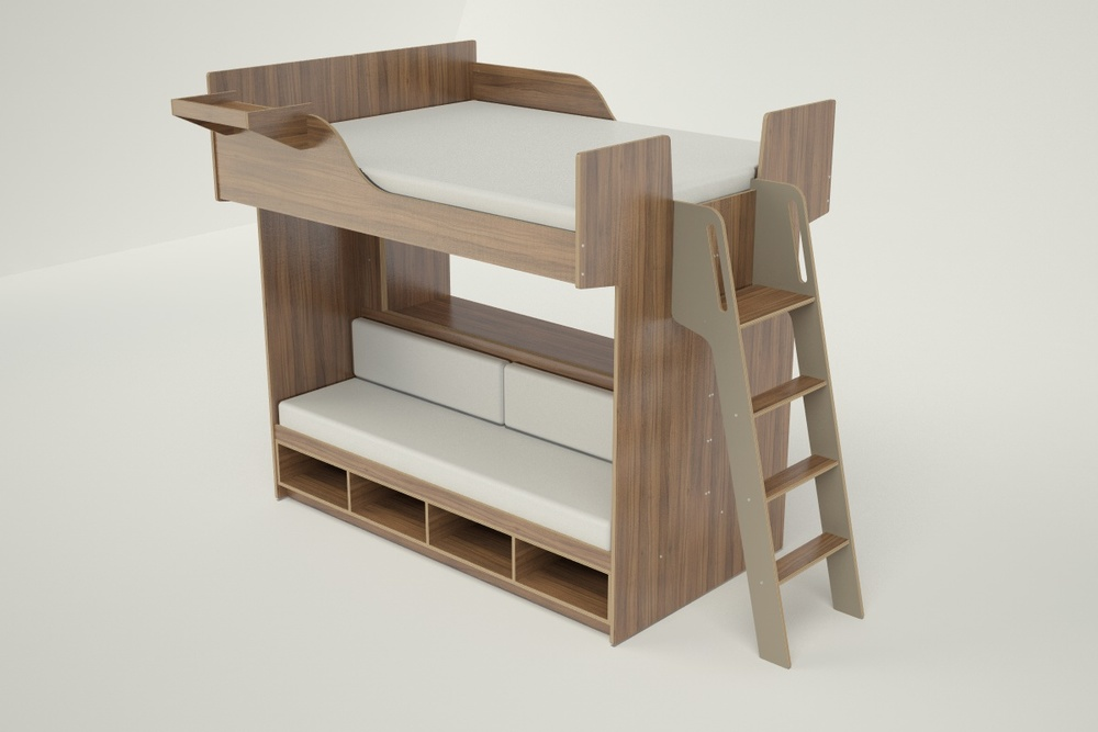 Awesome Queen Loft Bed   020416 B