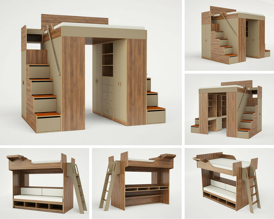 ... including lofts and bunk beds desks storage units and custom rooms