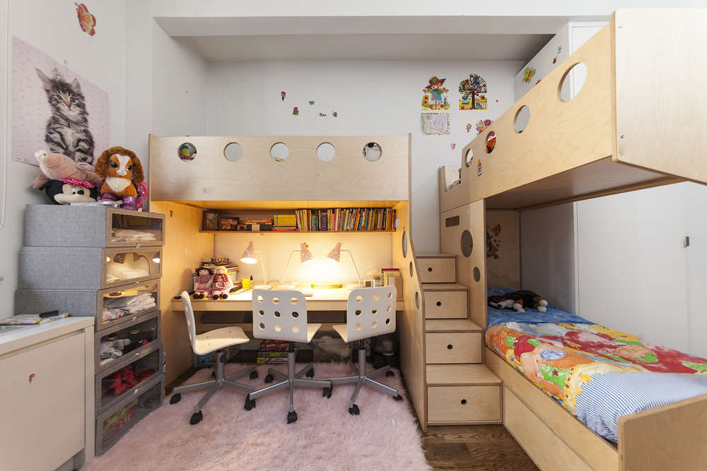 junior loft bed and desk