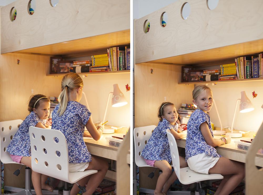 casa kids desk under loft