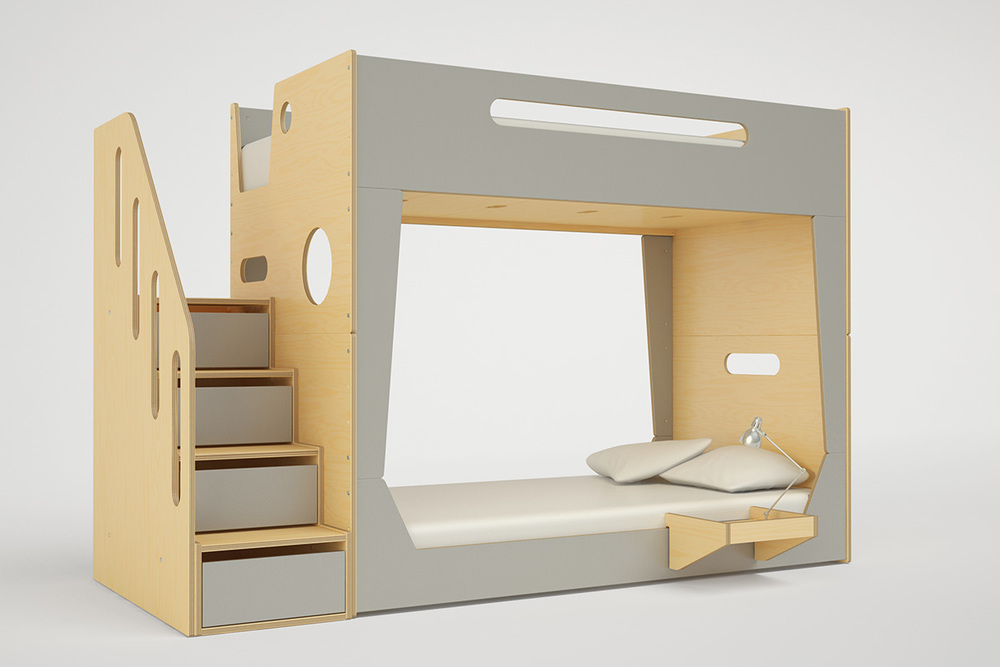 Lolo Bunk Bed With Stairs Casa Kids