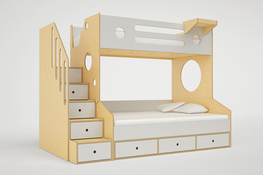 Marino Bunk Bed Twin Over Full Casa Kids
