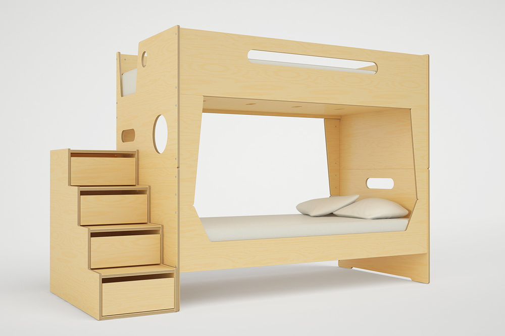 LoLo BUNK BED WITH STAIRS — Casa Kids 72e49ddfa