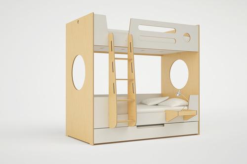 marino bunk bed with ladder — casa kids