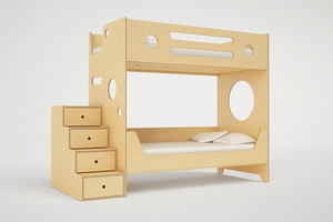 Marino Bunk Bed With Stairs Casa Kids