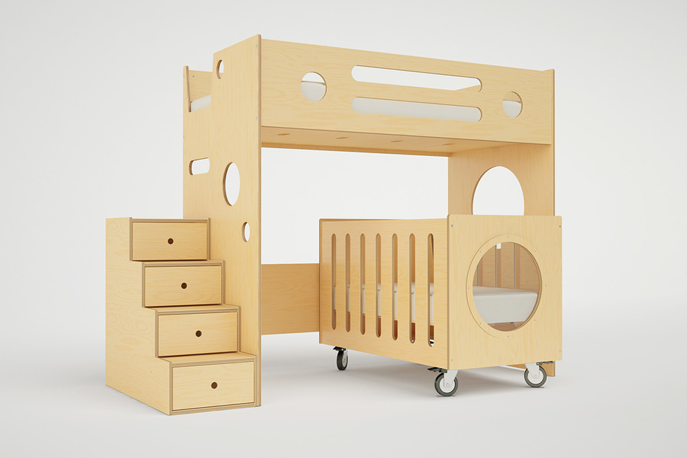 Modern Kids Bunk Beds With Stairs Storage Or Desk Casa Kids