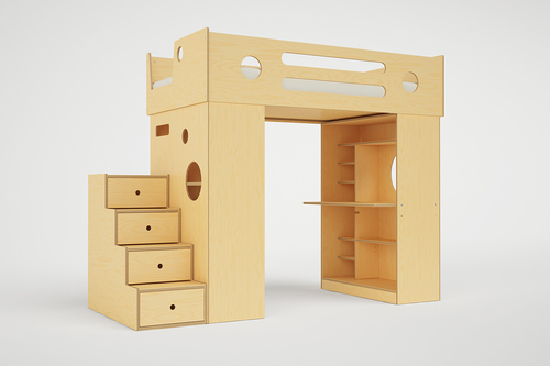 dumbo loft bed with stairs bunk bed steps casa kids