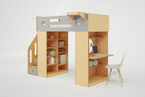 Pictures Of Loft Beds dumbo loft bed with stairs — casa kids
