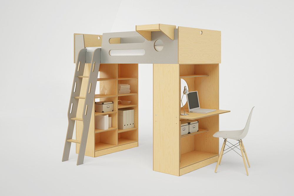 dumbo loft bed with ladder
