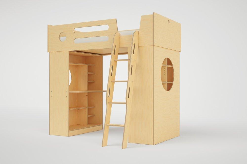 Ordinaire DUMBO Loft Bed Ladder 1