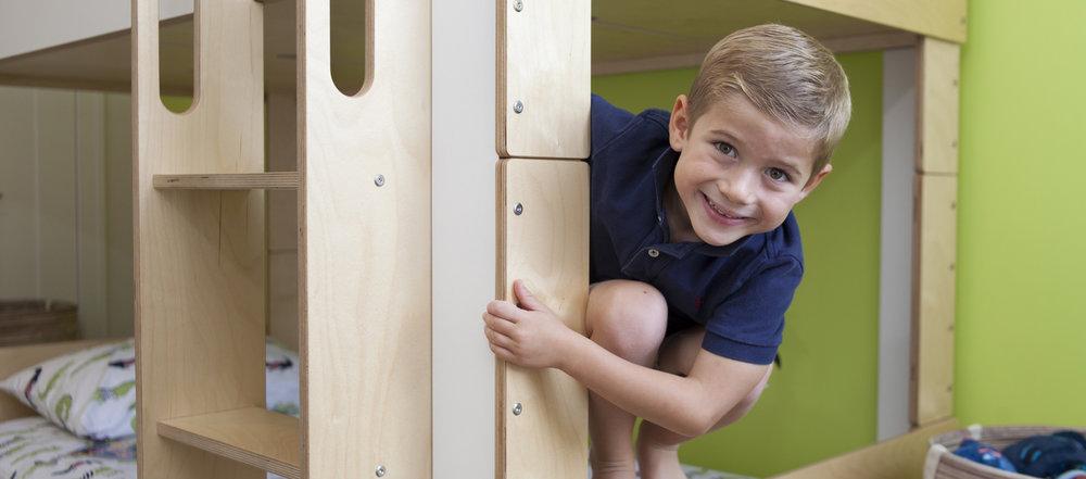 modern bunk bed kids