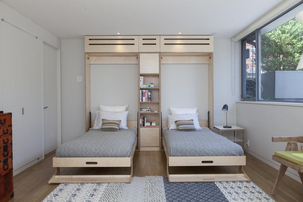 murphy bed casa kids built in