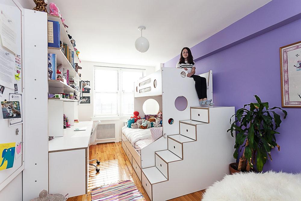 custom kids furniture modern bunk bed casakids