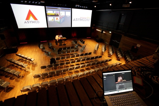 Perspective  was at center stage at  Asymconf  Amsterdam alongside  Horace Dediu