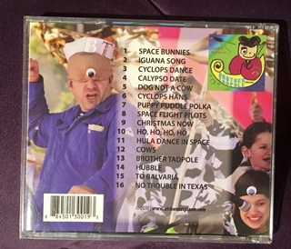 Brother Tadpole album songs: Space bunnies, Iguana song, Cyclops dance, etc...
