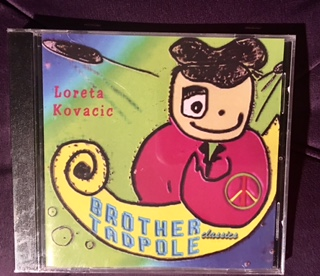 Brother Tadpole classic album. Artwork by Loreta Kovacic
