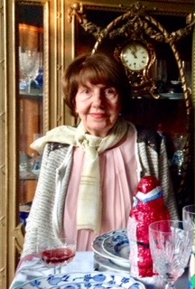 Aunt Ana, age 90. Is it in the tea?