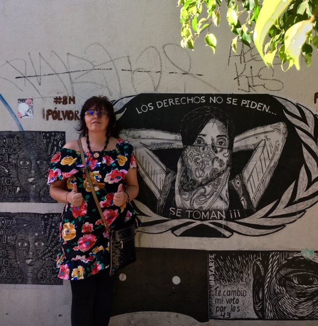 Oaxacan artists decorate the streets with socio-political and powerful artwork.