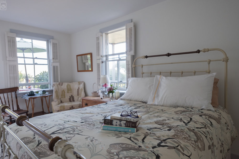 Room 7, one double with garden and partial ocean views
