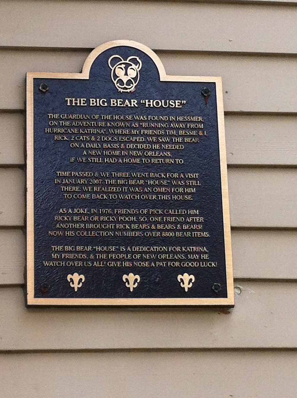 The Story of The Bear House