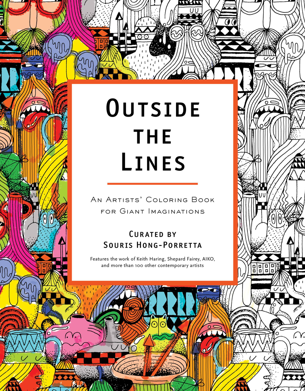 Outside the Lines Curated By Souris Hong-Porretta