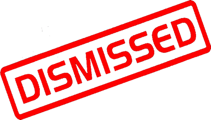 Image result for dismiss