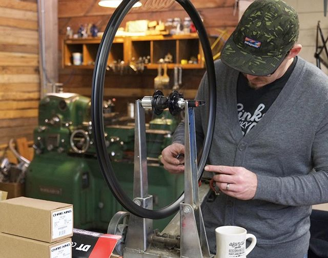 Building a wheel set for the latest Signal. Dig it.