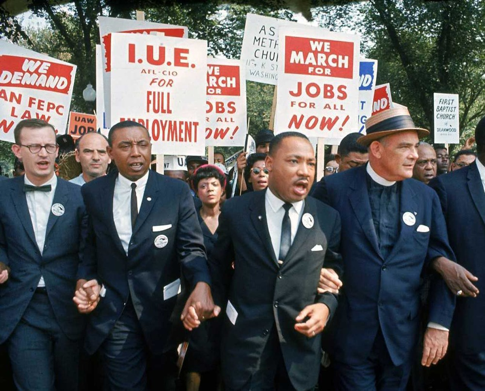MLK didn't only fight for the civil rights of Blacks, he fought for what
