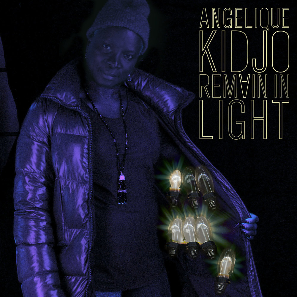 ANGELIQUE KIDJO // REMAIN IN LIGHT ALBUM COVER DESIGN // PHOTO BY KERRY JAMES MARSHALL // 2018