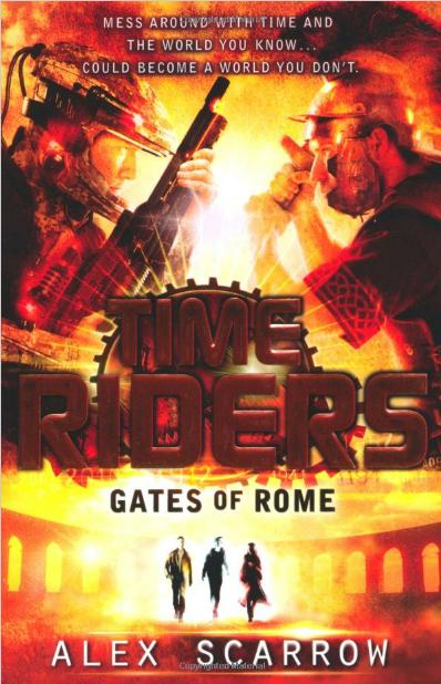 TIMERIDERS GATES OF ROME - UK, Puffin front.JPG