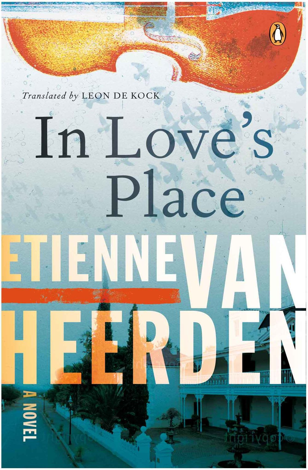 IN LOVE'S PLACE  Literary Fiction, 456 pages. Penguin (SA), Aug 2013.  Winner of the W A Hofmeyr Prize in 2005 and the ATKV prize for prose in 2006.     After his heart bypass operation former champion athlete Christian Lemmer needs to take stock of his life, especially when he inadvertently becomes the target of a Cape Flats gang.