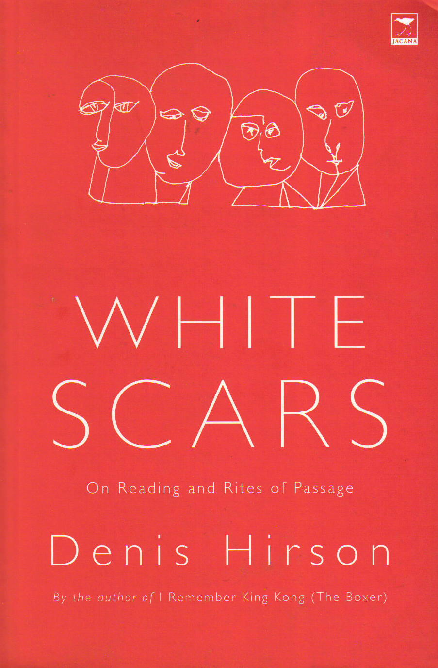 WHITE SCARS Non-fiction essays, 196 pages Jacana Media (South Africa) - August 2006 A lyrical meditation on reading and its significance in our lives, focusing on four works that changed the author – books by Perec, Raymond Carver, and poet Breyten Breytenbach, as well as a book on the Sharpeville shooting.