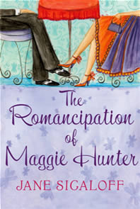 THE ROMANCIPATION OF MAGGIE HUNTER Novel, 448 pages Mira, 17 August 2007 Maggie has a funny, caring boyfriend but there's one problem: he wants commitment-phobic Maggie to move in... Is she ready to face her fears and embrace her own romancipation?