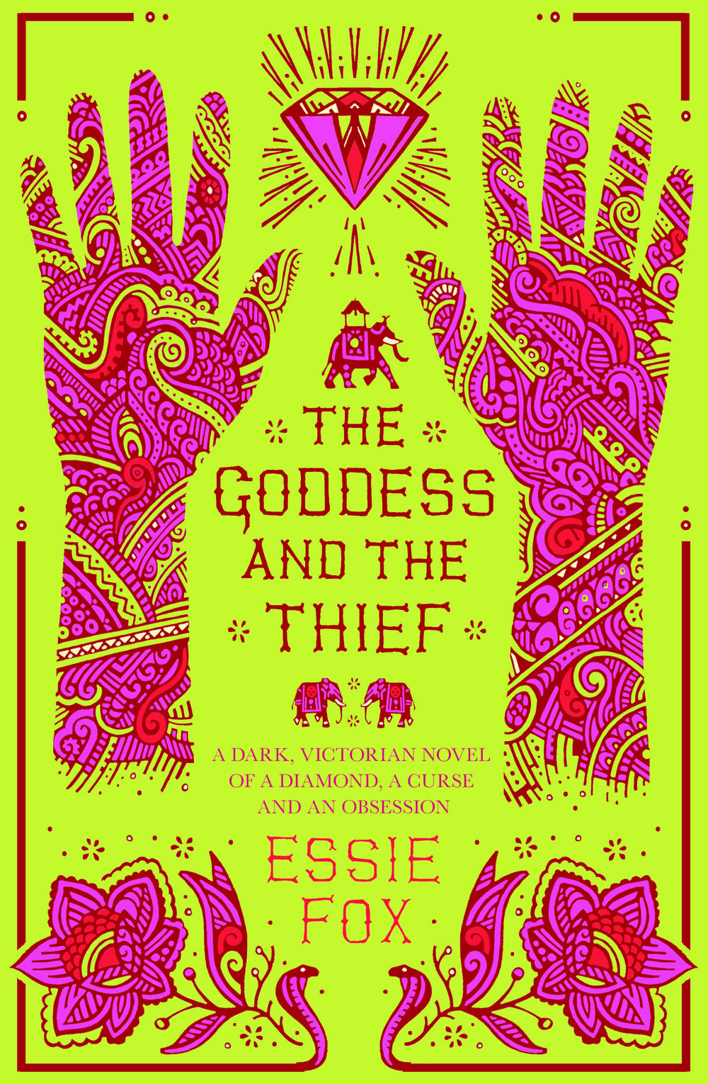 THE GODDESS AND THE THIEF Literary Fiction, 382 pages Orion - November 2014 A cursed diamond from the Raj, séances in Queen Victoria's Windsor, madness, desire & a daring plot.