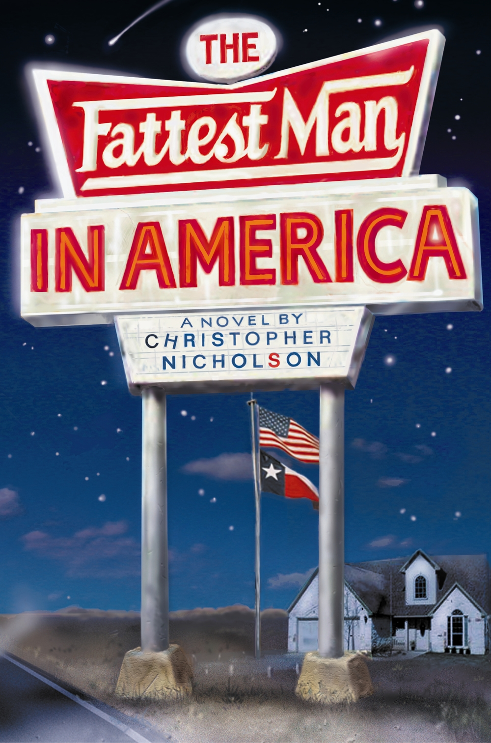 THE FATTEST MAN IN AMERICA Novel, 256 pages Constable, 26 May 2005 A darkly comic fable set in a small Texas town in modern day America.