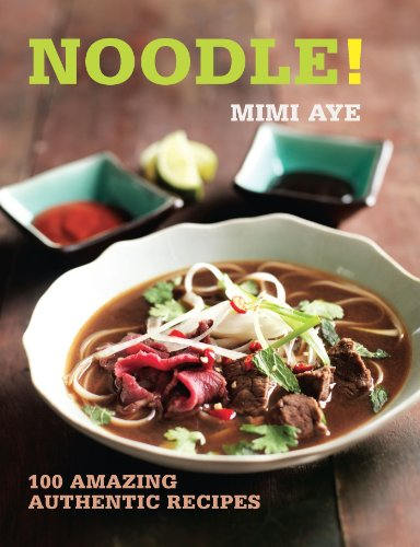 NOODLE! Food, Absolute Press 2014, 160 pages Popular food blogger and veteran noodle eater MiMi Aye celebrates 100 wonderful noodle recipes for every occasion in this practical book. All types of the stringy staple are explored, from udon and soba to reshteh and rice vermicelli. Discover different soups, stir-fries, casseroles and salads with flavours from across the world in this essential guide. Here are 100 recipes in a fantastic collection that you'll return to all year round.