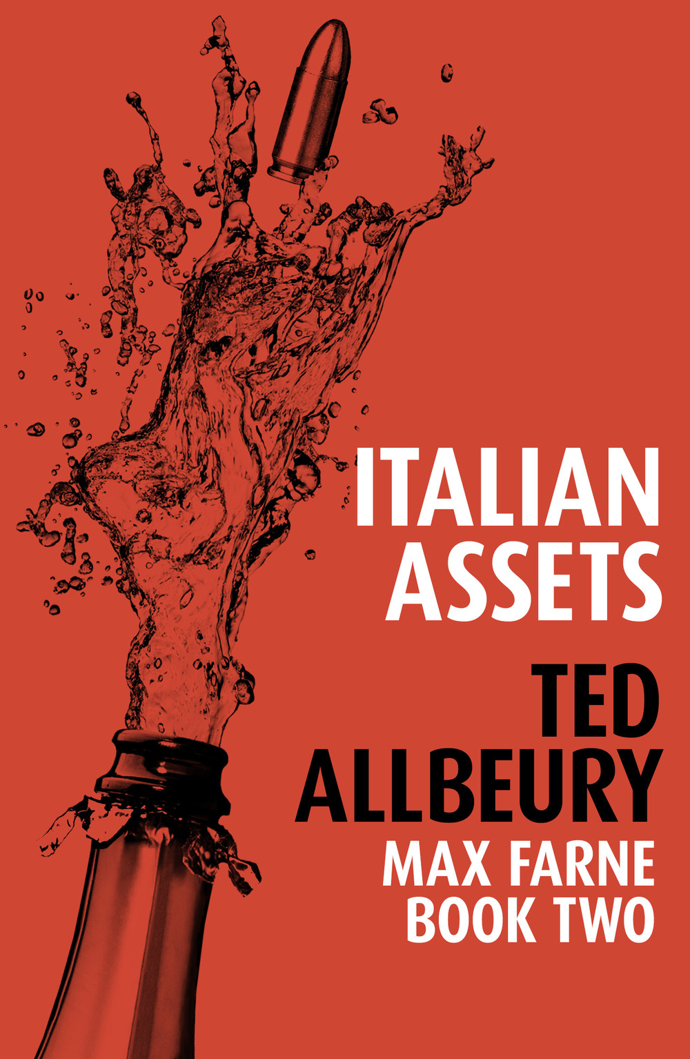 ITALIAN ASSETS Thriller, 164 pages, Mulholland 2014. Abducted and blackmailed into selling his boat by a smooth Italian gangster, Max Farne is drawn into a wave of crime sweeping Italy, taking him back to the mountains to protect the beautiful daughter of a wartime friend.