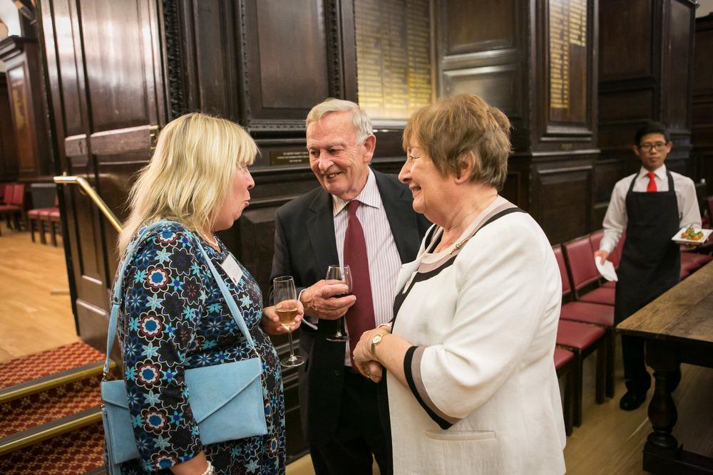 Lesley Pollinger, John Granger, Ann Granger