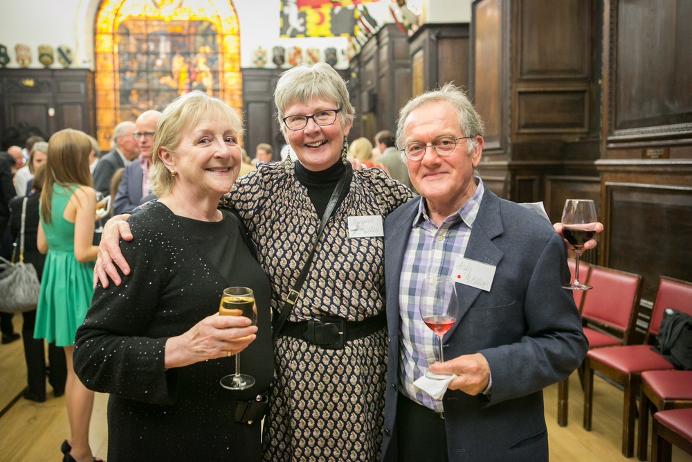 Carol Smith, Margaret Welles, Andy McKillop