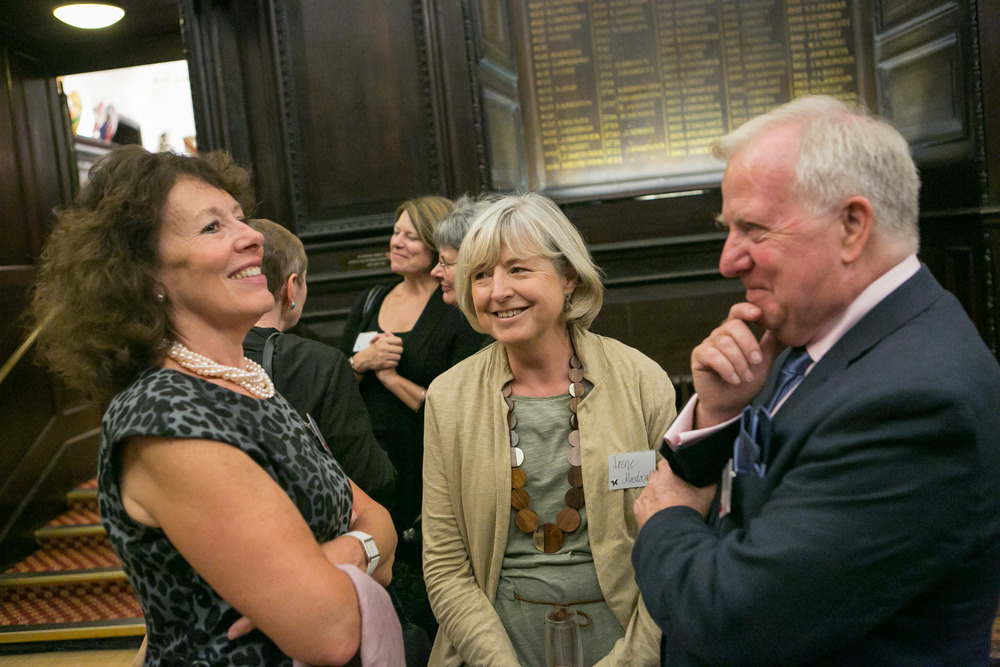 Anne Robinson, Irene MacDonald, Bob Redman