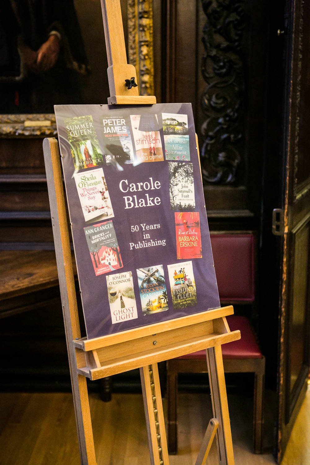 Carole Blake's Authors' Covers