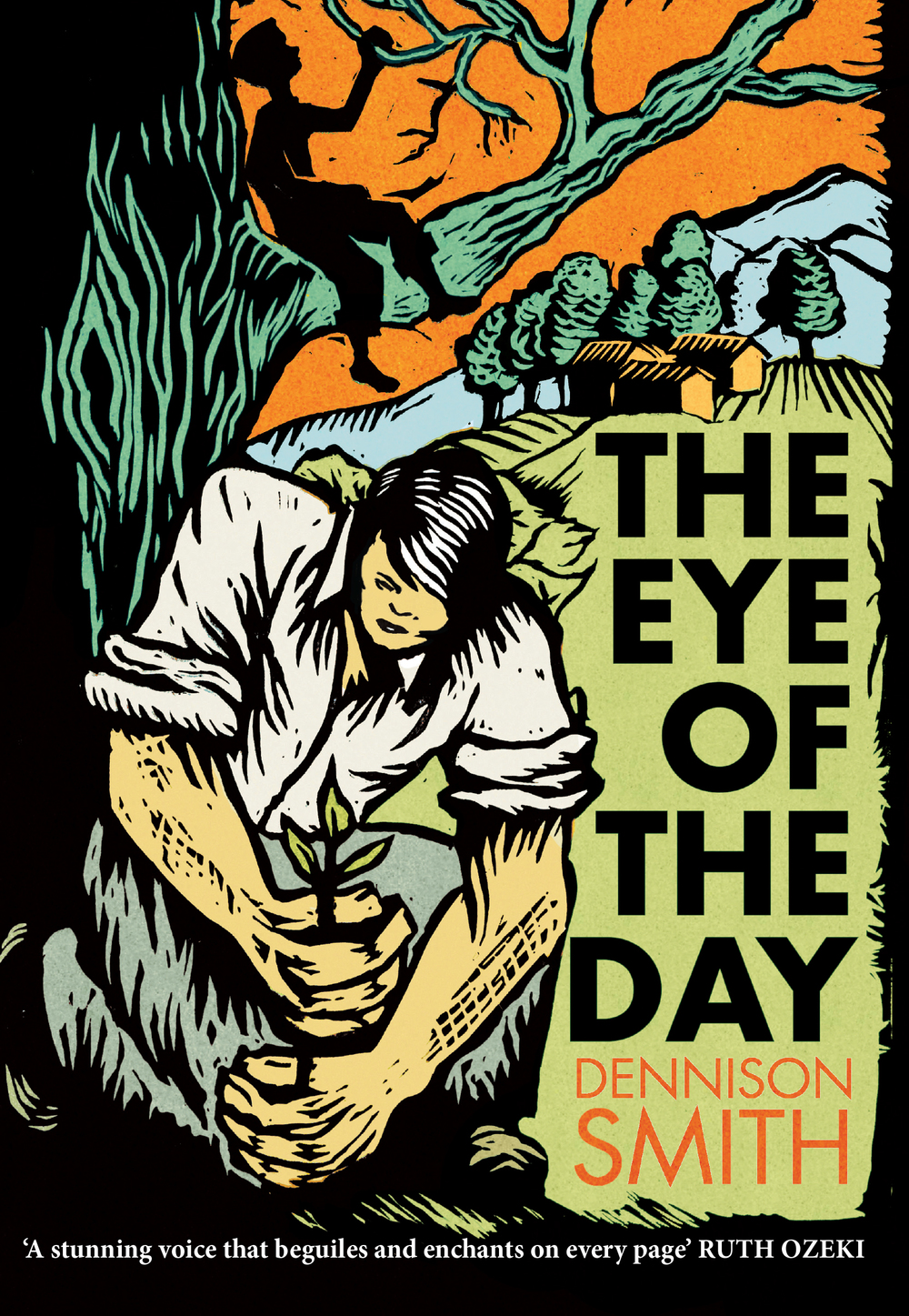 THE EYE OF THE DAY    Literary, 288 pages Harper Collins Canada, 2014    A brutal explosion in a summer-cottage town in Vermont brings together Amos, a disfigured handyman, and Aubrey, the cosseted son of a wealthy New England family. A masterly evocation of friendship and a profound meditation on the compromises exacted by life.