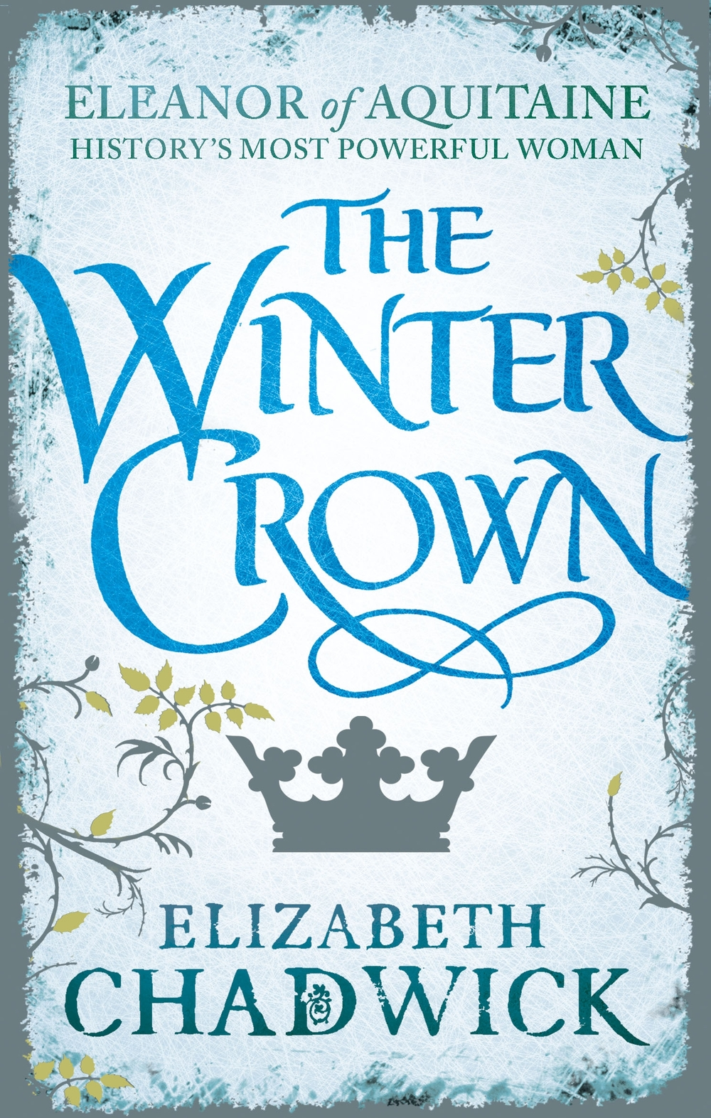 THE WINTER CROWN   Medieval fiction, 496 pages.    Sphere, September 2014  Second of the Eleanor of Aquitaine trilogy. Winter 1154: Eleanor, Queen of England, is biding her time. As her sons become young men, frustrated at Henry's hoarding of power, Eleanor is forced into a rebellion of devastating consequences.