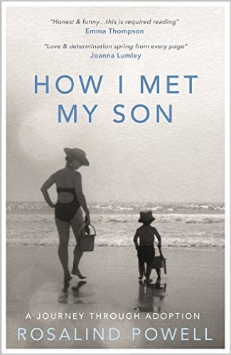 HOW I MET MY SON Memoir, 272 pages Blink, Feb 2016 A warm, honest account of what it is to adopt and to build a family from scratch.