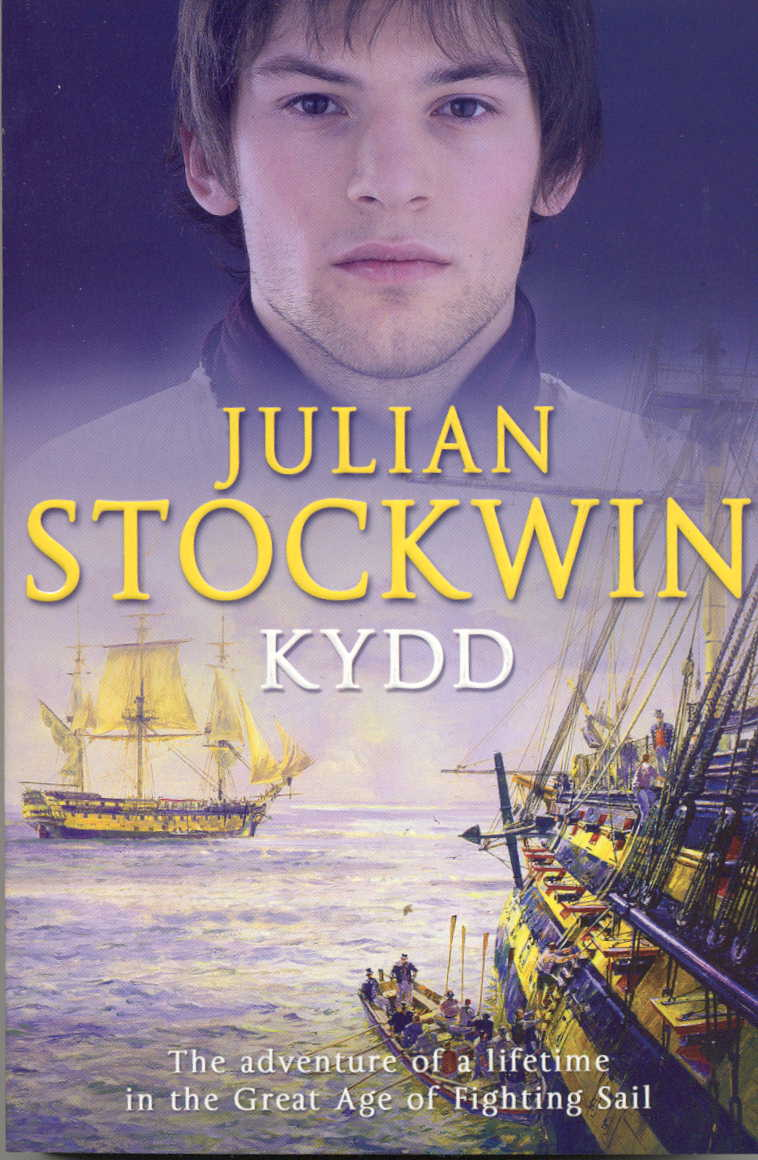 KYDD Historical fiction, 448 pages Hodder & Stoughton, October 2004 KYDD 1. Thomas Kydd, a wigmaker's son, is forced into a harsh, unforgiving world when he is press-ganged into the navy. Life below decks in the 18th century is hard, but he comes to love it as he learns the ways of the sea, and forms friendships with other men, both pressed and volunteers.