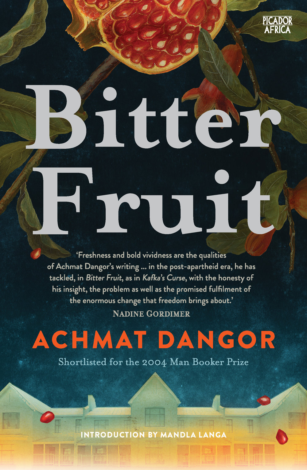 BITTER FRUIT Literary fiction, 256 pages Atlantic Books - September 30, 2004 Shortlisted for Man Booker Prize 2004 and the IMPAC Literary Award 2003; Voted one of the 100 best books of 2004 by Canada's Globe & Mail When Silas Ali last encountered the Lieutenant, he was locked in a police van as the Lieutenant raped his wife. When Silas sees him again, after apartheid's crumbling, crimes from the past erupt into the present.