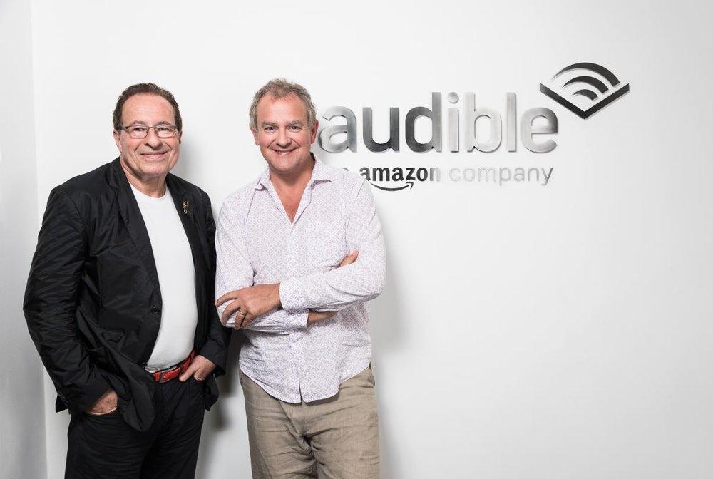 Peter James and Hugh Bonneville.jpg